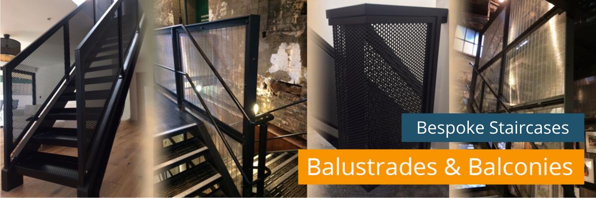 Bespoke Staircases, balustrades & balconies